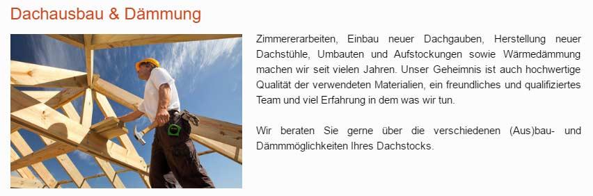Eindeckung, Ausbau, Dachdämmung  in  Pölitz